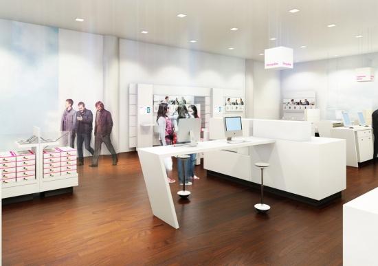 Neuer Telekom Shop, Frankfurt/Zeil