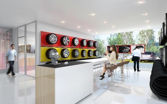 1.Preis Flagshipstore Pirelli