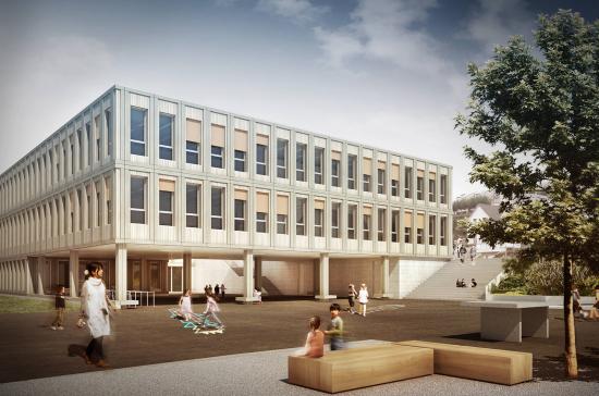 Wettbewerb Schulhaus Haldenacher