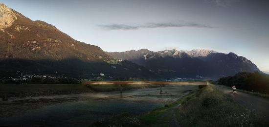 Langsamverkehrsbrücke Buchs – Vaduz