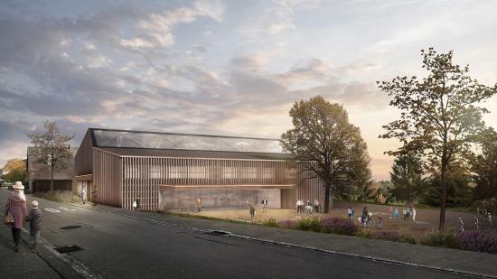 Neubau Mehrzweckhalle Pfyn