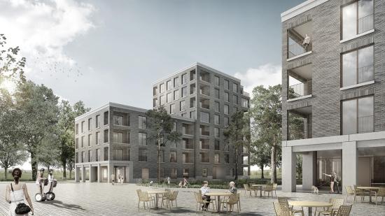 Concours pour 7 immeubles d'habitation