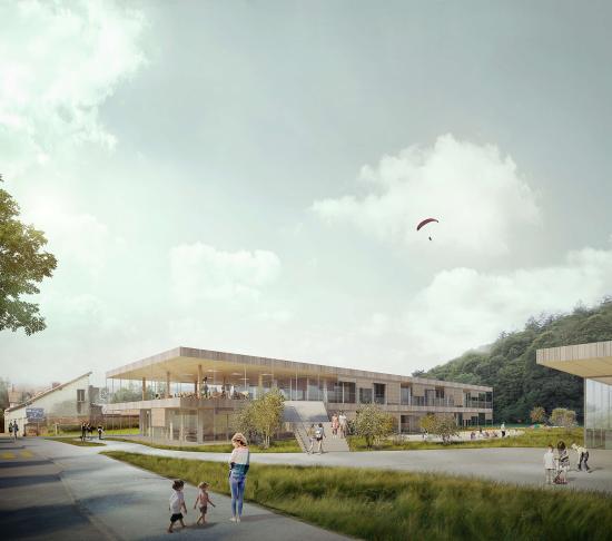 Wettbewerb Extension du Collège de Longereuse